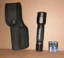 Pelican M6 LED Tactical Flashlight w/ belt holder & extra batteries Free shippin