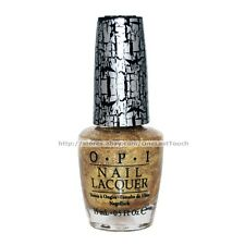 OPI* Nail Polish/Lacquer #NL E560 GOLD SHATTER Crackle Effect GLITTER/SHIMMER