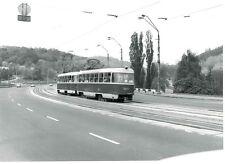 6BB210 RP 1992 KIEV UKRAINE RUSSIA TROLLEY BUS TRAM TATRA T3 #5944 PATON BRIDGE