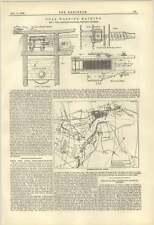 1884 C Hall Sheffield Coal Washing Machine Coble Dene Docks Tyne