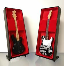 Pink Floyd - Roger Waters & Syd Barrett - Miniature Guitar Set