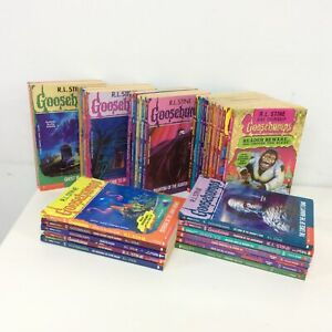 Collection of Goosebumps Children Horror Books by R.L. Stine #404