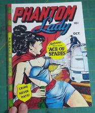 Phantom Lady 20, Matt Baker, !! EXACT, HIGHEST QUALITY FACSIMILE REPRODUCTION!