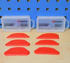 Würth Alisador de Hendiduras Set 6 Unidad Silicona Acrílico Extractor