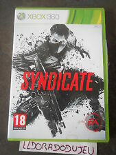 ELDORADODUJEU   SYNDICATE Pour XBOX 360 VF COMPLET CD COMME NEUF