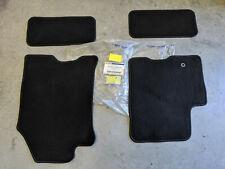 08 09 Focus OEM Genuine Ford Carpeted Black Floor Mat Kit Set 4-pc Front & Back
