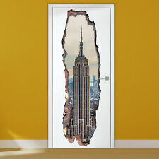 Walplus Wall Sticker 3D Empire Tower Door Mural Art Decal Room Decorations