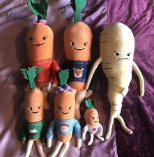 Kevin Carrot Family In Xmas Jumpers Inc Turnip