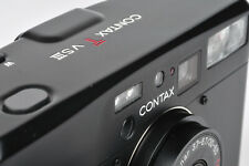 Contax TVS III 35mm Compact Film Camera in Black Carl Zeiss T* Vario Sonnar