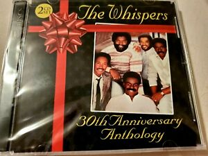 The Whispers CD 30th Anniversary Greatest Hits The Best Of Funk Soul