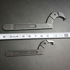 2x Armstrong USA Adjustable Spanner Wrench 34-363 & 34-305 Machinist Mill Lathe