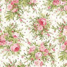 Heather In Floral by Jennifer Bosworh for Maywood Studio Quilting Fabric