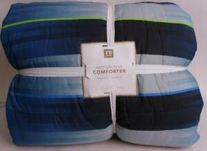 Pottery Barn PB Teen Motion Blur FQ comforter full queen