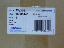 15863440 (FW310) - Hub & Bearing - GM ACDelco OE Service - With Bolt Pack