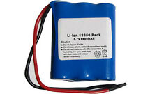3.7 Volt Lithium Ion Battery Pack (6600 mAh) with Protection IC