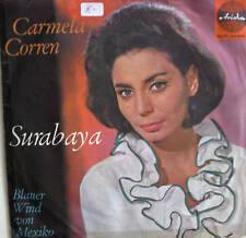 "7"" 1962 ! CARMELA CORREN : Surabaya // VG+ \"
