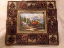 Thomas Kinkade The End Of A Perfect Day III Picture Frame-Country Theme Frame