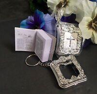 12 Baptism Favors Mini Prayer Book Recuerdos Bautizo Libro Oracion Party Favors