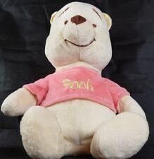 "Disney Winnie the Pooh Baby Soft Rattle Plush Just Play 11"""