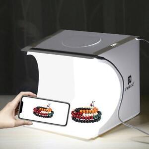 Mini Light Room Photo Studio Photography Lighting Tent Kit Backdrop Cube Box