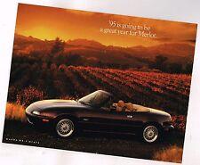 1995 Mazda MIATA M EDITION (Merlot) Brochure / Sheet / Photo for framing-New/NOS