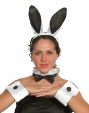 Para Adultos Damas Bunny Niña Conjunto Playgirl Hen noche bunnygirl Fancy Dress Orejas Cola