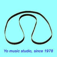 Belt for TELEFUNKEN M15A Studio tape recorder magnetophon reel to reel belt New