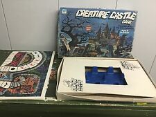 Creature Castle Board Game by Whitman 1975 - BRUCE BOND  - RARE For Parts