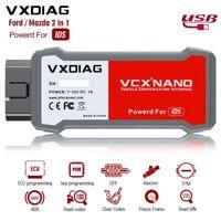 VXDIAG VCX NANO 2 in 1 Auto OBDII Diagnostic Scanner Tool With IDS V95 Version