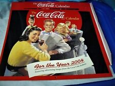 The Coca Cola Calendar 2004 Coke Vintage Advertising Images New in Sleeve