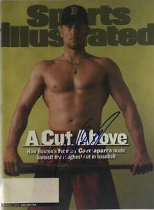 NOMAR GARCIAPARRA Autographed Signed Sports Illustrated Magazine BOS NL 3/5/2001