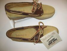 Timberland Women's Classic Waterproof Leather Handsewn Boat Shoes Size 9 NWT wFS
