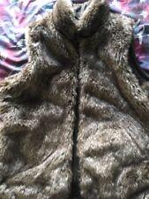 Reversible Fur Gilet Size XL