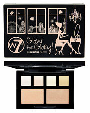 W7 Glow For Glory Illuminating Palette - Makeup Shimmer Highlight