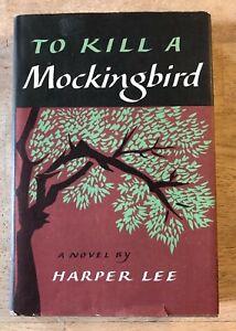 To Kill A Mockingbird by Harper Lee - First Book Club Edition w/Dust Jacket 1960