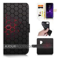 ( For Samsung S9+ / S9 Plus ) Flip Case Cover AJ40384 Abstract Cell