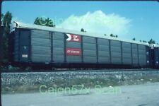 Original slide- CP Rail Enclosed Auto Rack #556130 In 7/88