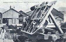 *Acciaierie di Terni : Telaio di timone in acciaio fuso per nave da guerra* 1919