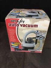 Portable Mini Auto Car Vacuum Cleaner Wet/Dry DC Black New Open Box