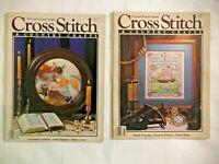 Cross Stitch & Country Crafts Magazine Nov Dec 88 Jan Feb 89 Christmas Ornaments