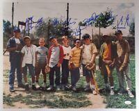 Sandlot Signed 16x20 Photo 8 Cast Members JSA 8 Signatures RARE