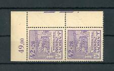 SBZ Nr.89A F10/20 ** ECKRANDPAAR ABART HANDBUCH KÖHNE EURO 60,-++ (129149)