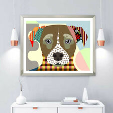 Art Jack Russell Print Terrier Dog Pop Print Poster Puppy Portrait Painting