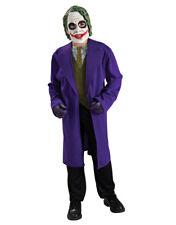"""Niños Disfraz De Batman Guasón Caballero Oscuro S1,, 10-12 Años, Altura Tween 4' 10"""" - 5'"""