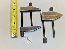 Parallel Clamps, (2) Lufkin No. 910D Machinist Clamps, Saginaw, Michigan., USA