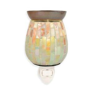 Mosaic Plug-In Fragrance Warmer : Electric Plug In Candle Wax Warmers