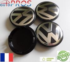 4X CENTRES DE ROUE ABS POUR VW caches moyeu jante alu 70 mm emblème VOLKSWAGEN