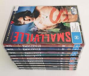 SMALLVILLE  Complete Series Set 60 Disc DVD Seasons 1-10 Clark Kent Superman
