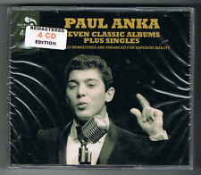 PAUL ANKA - SEVEN CLASSIC ALBUMS PLUS SINGLES - 4 CD SET - NEUF NEW NEU