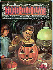 Good Old Days Magazine October 1971 Letters Stories Poems EX 022616jhe2